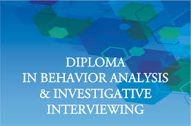 diploma in behavior analysis and investigative interviewing