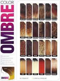Ombre Braiding Hair Color Chart General Ombre Color Chart Ombre Hair Color Hair Color