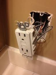 gfci in breaker box electrical upgrade pinterest box Fuse Box Wires Exposed Hosuing Violation installing a gfci outlet