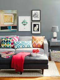 this living room rug placement is perfect for the size of the furniture and space it s
