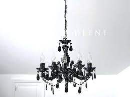 shocking black mini chandelier also brushed nickel small for bathroom
