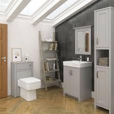bathroom furniture ideas. Chatsworth Traditional Grey Vanity 560mm Wide - C560GRY Bathroom Furniture Ideas