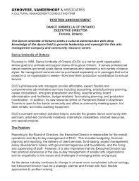 Sample Dancer Cover Letter 14 Perfect Accounting Resume Supervisor