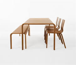 Eco Friendly Bamboo Dining Table Design for Dining Room Furniture by