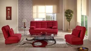 vegas rainbow red sofa 2 chairs set