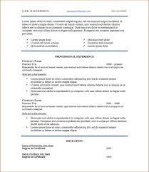 Standard Resume Font Edouardpagnier Co Resume For Study