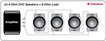 p2d4 12 punch 12 p2 4 ohm dvc subwoofer rockford fosgate® wiring diagram 9 speaker polarity