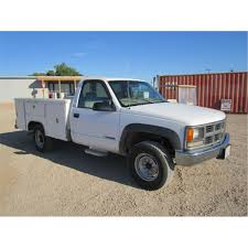 1997 Chevrolet Cheyenne 3500 4x4 Utility Truck