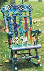Shore Line Painted On Bench  Garden Wishes  Pinterest  Bench Hand Painted Benches