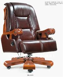 leather antique wood office chair leather antique. CEO Office Chair With Top Genuine Leather And Solid Wood Material, Antique Wooden Boss 7
