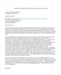 Application Sample For Internship Cover Letter Template For Internship Intern Cover Letter Template