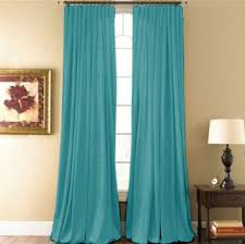 Aqua 2 Piece Curtain Set Hyatt Curtain Panel Moshells