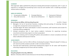Sample Resume For Experienced Hr Executive Hr Executive Sample Resume Templates Manager Samples By 60jobz In Pdf 39