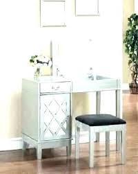 Mirror For Girls Bedroom Vanity Mirror With Chair Makeup Vanity ...