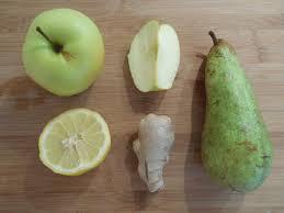 jus pomme poire citron gingembre 2