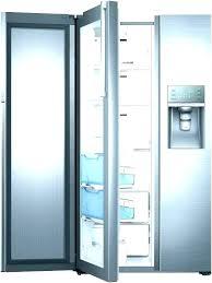 glass front refrigerator residential refrigerators with doors sub zero door refr