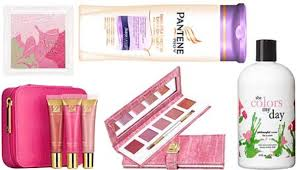 it s october pink ribbon beauty month marked with a plethora of bath body and makeup treats that help to raise money for t cancer research and
