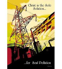 Christ is the Sole Solution…for Soul Pollution by Sara Pierce Graphic Art  Buyenlarge