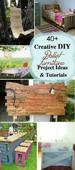 creative diy pallet furniture project ideas and tutorials
