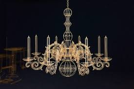drawings in space wooden wireframe sculptures of everyday objects rh thisiscolossal com chandelier shade frames wire
