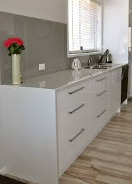 Granite Kitchen Benchtop Waterfall Edge With A Laminate Bench Top Can Be A More Cost