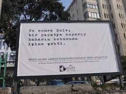 İzmit Belediyesi'nden dikkat çeken 25 Kasım afişleri - Gerçek Gündem