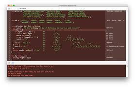 Christmas Program Theme Christmas Xcode Theme