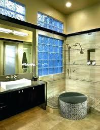glass block window in shower intallation part creen installation