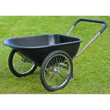 i kind of like the look of this one and the is good harborfreight com lawn garden wheeled carriers twin wheel wheelbarrow 66772 html