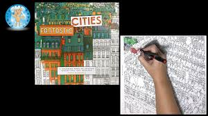 Fantastic Cities By Steve Mcdonald Adult