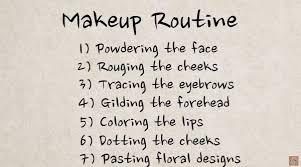 7 steps of makeup routine screenshot you