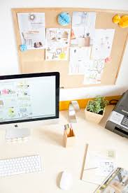 office pinboard. Scandinavian Interior Office Home Table Decoration Colour IMac Pinboard N