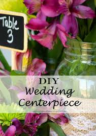 Wedding Decor With Mason Jars DIY Mason Jar Wedding Centerpieces A Little Claireification 89