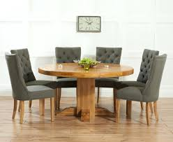 round kitchen table and chairs for 6 tables mark solid oak round dining set with