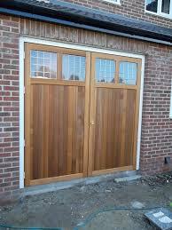 cardale timber side hinged garage doors esher surrey