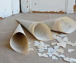 paper cones wedding. wedding paper cones