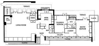 Gallery Of AD Classics Fallingwater House  Frank Lloyd Wright  9Frank Lloyd Wright Floor Plan