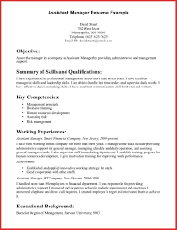 Operations Manager Resume Examples Beautiful assistant Manager Resume Sample excuse letter 61