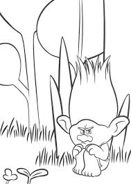 Printable Coloring Pages Trolls How To Draw From The Movie Ideas
