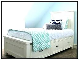 Xl Twin Storage Bed Twin Bed Frame Twin Trundle Bed Frame Twin Bed ...