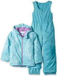 Columbia Toddler Girls Frosty Slope Set Pacific Rim Snow