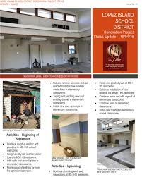 lopez island school district bond lopez school renovation project 4 newsletter
