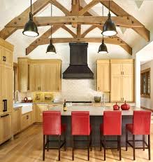 open ceiling lighting. Vaulted Ceiling Lighting Options Large Size Of Beams In Kitchen Open