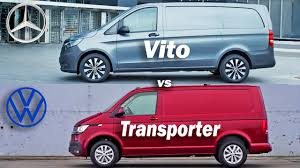 Freni a disco anteriori e posteriori. 2020 Mercedes Vito Vs Volkswagen Transporter Vw Vs Mercedes Transporter Vs Vito Panel Van Youtube
