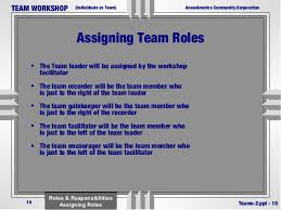 Building Teams By Defining Roles And Responsibility In Meetings