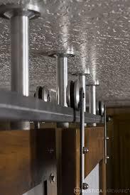 sliding door tracks hanging barn door hardware styles like ceiling mount hardware flat track box track j track hardware in custom colors