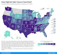 State And Local Sales Tax Rates 2018 Tax Foundation
