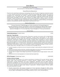 Administrative Assistant Resume Objective Sample Fascinating Hr Generalist Sample Resume Good For Position Best Theseventhco