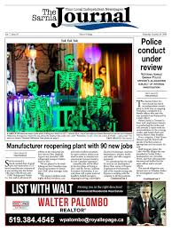 The Sarnia Journal October 29th, 2020 by The Sarnia Journal - issuu