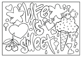 Positive Quote Coloring Pages Pdf Adult Coloring Page Funny Quote